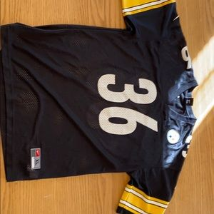 Youth XL Retro Steelers Bettis Jersey